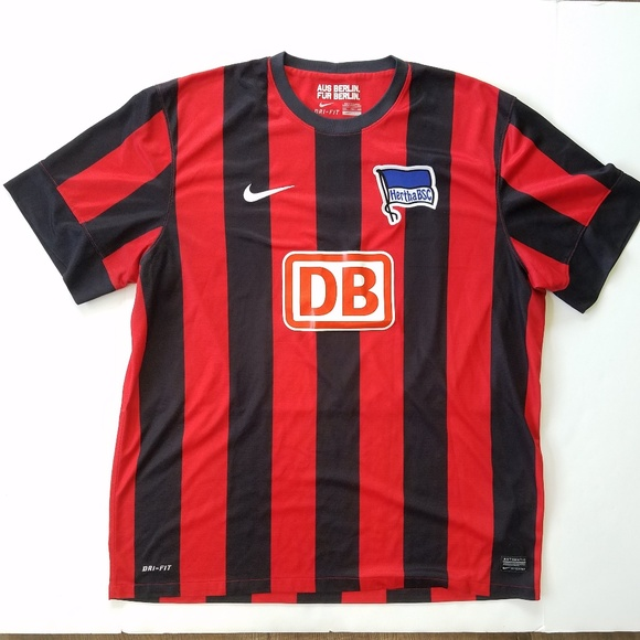 39fe24f89 Nike Hertha BSC Berlin Ronny Soccer Jersey. M 5b74a83c12cd4a3cae7347b9